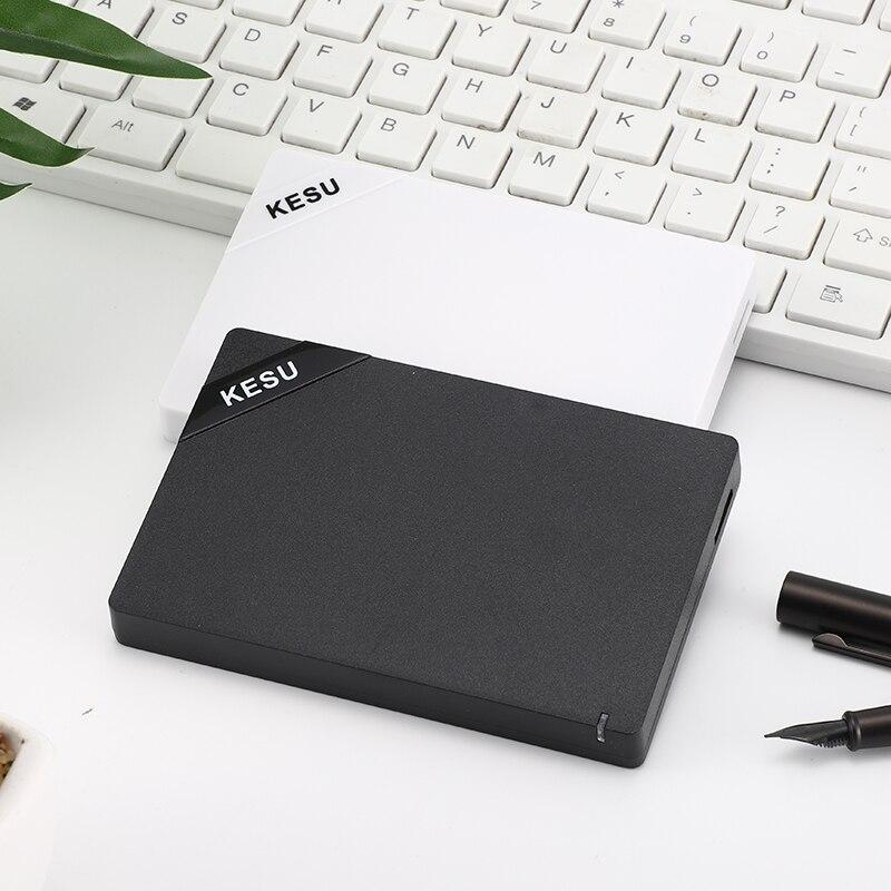 الأصلي KESU 2.5 بوصة قرص صلب خارجي تخزين USB 3.0 HDD المحمولة الخارجية HD قرص صلب لخادم الكمبيوتر المحمول سطح المكتب