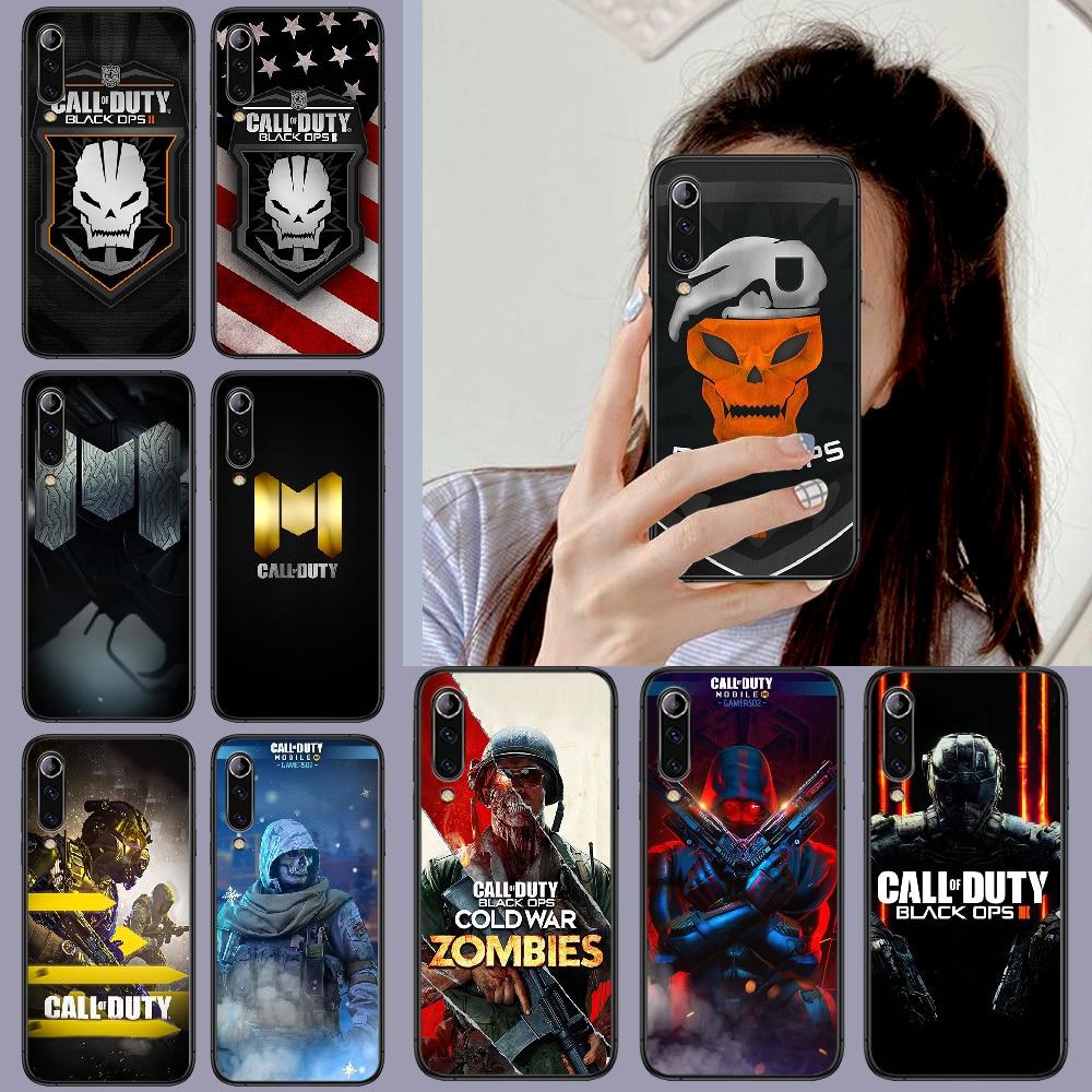 Funda de teléfono para Xiaomi de juego Call of Duty Mi note...