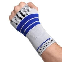 2pcs gel silicon hand wrist palm support brace therapy gloves arthritis compression wristband guard for women men carpal tunnel