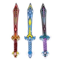 new inflatable outdoor toys kids garden yard toys kids toys pirate swords shape anime inflatable swords children cosplay