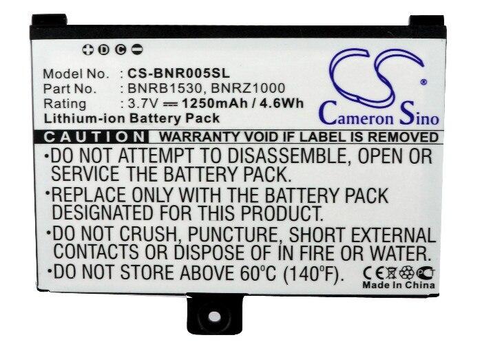 Batería Para Barnes & Noble 005/nook BNRZ100 NOOK clásico BNRV100 de reemplazo 9875521 9BS11GTFF10B3... BNRB1530 1250mAh
