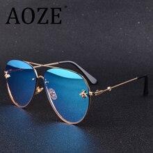 2020 New Brand Designer Female Rimless Sunglasses AViation Women Sun Glasses Gradient Shades Little bee Lens Ladies UV400 rays