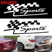 Car Body Highlight Bumper Sport Sticker For Suzuki Swift Bmw F10 X5 E70 E30 F20 E34 G30 E92 E91 M Volvo XC90 S60 V40 S80