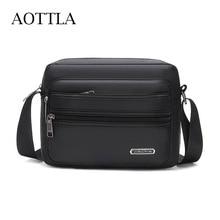 AOTTLA Shoulder Bag Male Crossbody Bags Wear Resistant Oxfrod Messenger Bag Men Brand Waterproof Bag