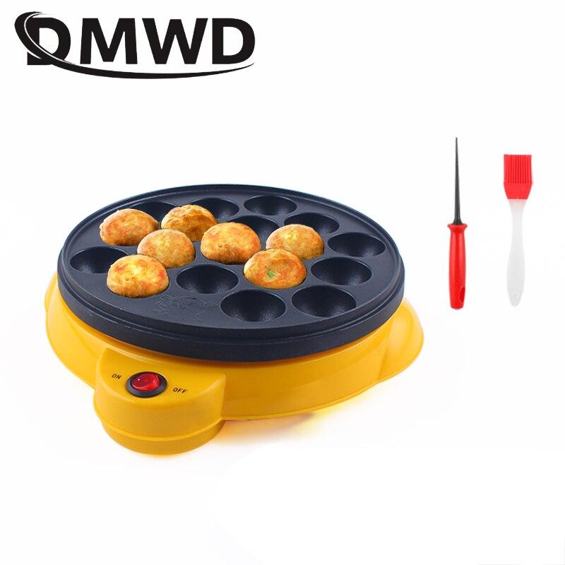Профессиональная машина для выпечки Chibi Maruko DMWD, бытовая электрическая устройство для приготовления такояки, 110 В/220 В, осьминог, шарики, кастрюля   Бытовая техника   АлиЭкспресс