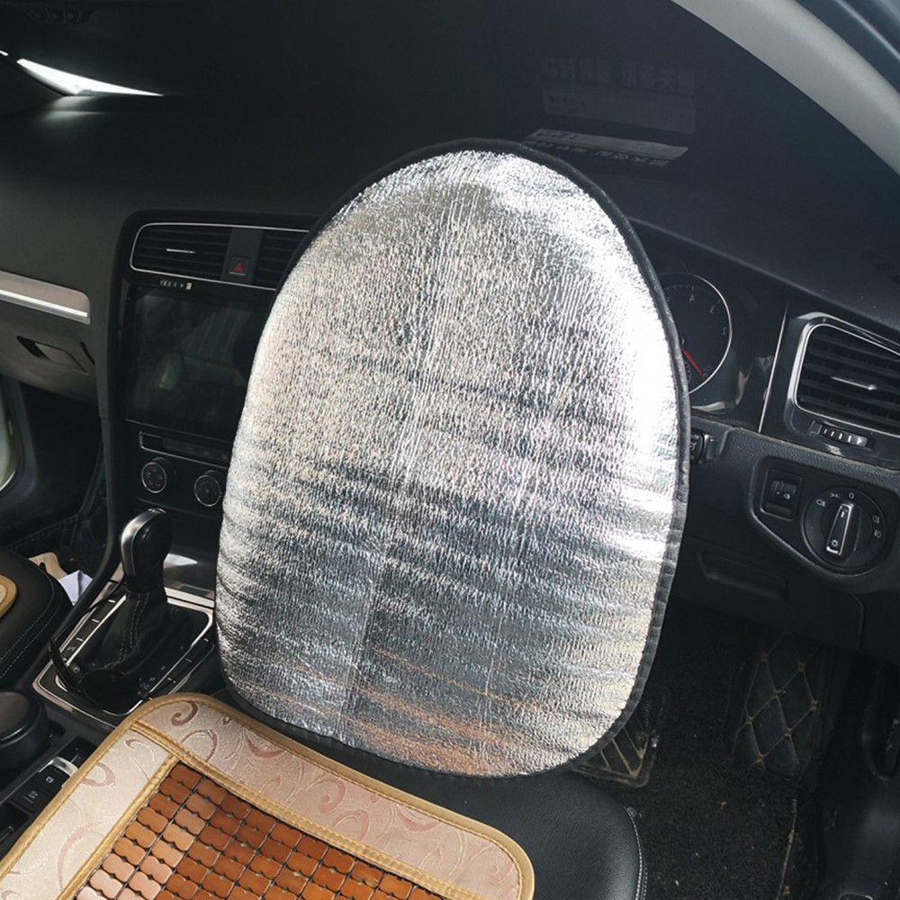 44 см x 50 см Универсальный Автомобильный солнцезащитный чехол на руль Хлопковый чехол на руль пузырьковый автомобильный Стайлинг