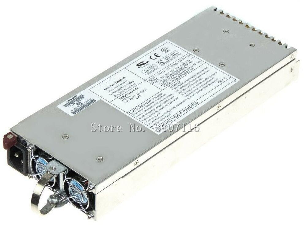 100% Fuente de alimentación funciona para el servidor 400 W PSU SP402-2S Swap caliente 400 vatios Pws-0037 se probará completamente antes del envío