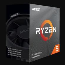 AMD Ryzen 5 3600 R5 3600 3.6 GHz Six-Core Twelve-Thread CPU Processor 7NM 65W L3=32M  100-000000031 Socket AM4 new and with fan