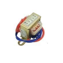 Transformateur de puissance en cuivre 6V 9V 12V 15V 18V 24V   Tension de sortie 1W EI, entrée de noyau de cuivre 220V 50Hz ~ 60Hz simple/double tension