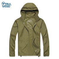trvlwego skin dust coat hiking camping jackets summer trip windproof skin menwomen quick dry thin breathable uv protection