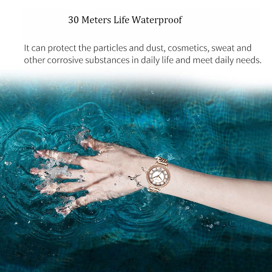 SUNKTA New Women Watches Luxury Brand Watch Simple Quartz Waterproof Fashion Wristwatch For Womens Female Gift Clock Reloj Mujer enlarge