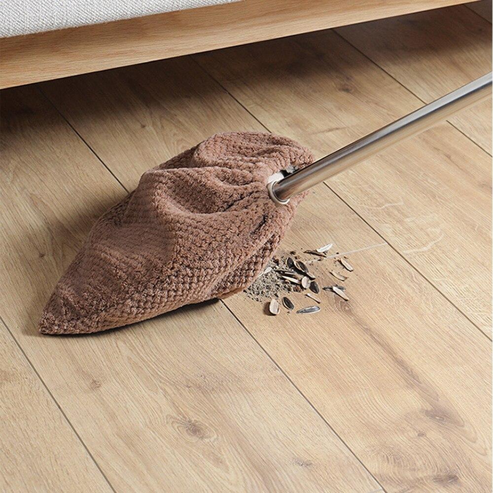 Cubierta para escoba perezosa de Color aleatorio, tela para escoba de pelo suave para barrer en el hogar, tela para escoba con hebilla mejorada, suministros para baño, herramienta de limpieza para el hogar