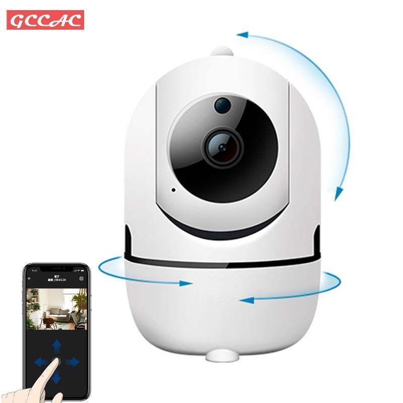 1080P اللاسلكية واي فاي كاميرا CCTV 360 المنزل الذكي مراقبة الأمن داخلي اتجاهين الصوت الطفل الحيوانات الأليفة شاشة عرض فيديو كاميرا IP