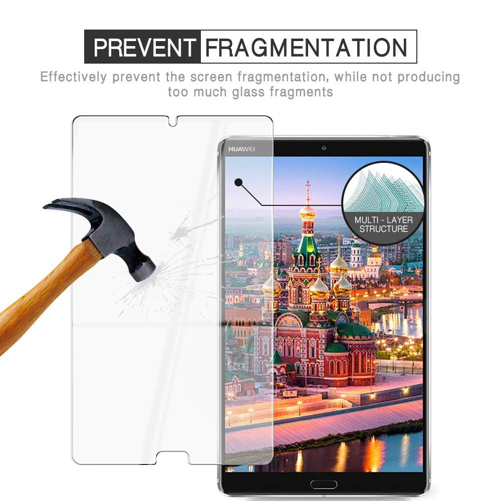 Película protectora de pantalla para Huawei MediaPad M5, cristal templado 9H, Ultra...