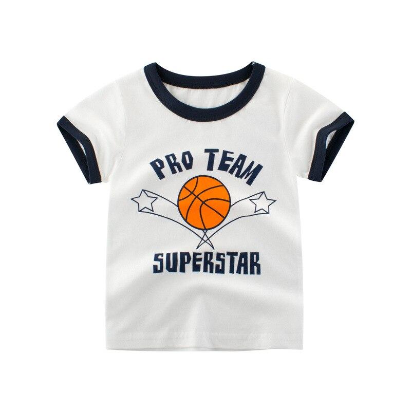 Футболка с рисунком для мальчиков; спортивная футболка для девочек; летняя детская футболка; футболки для девочек; футболки для мальчиков