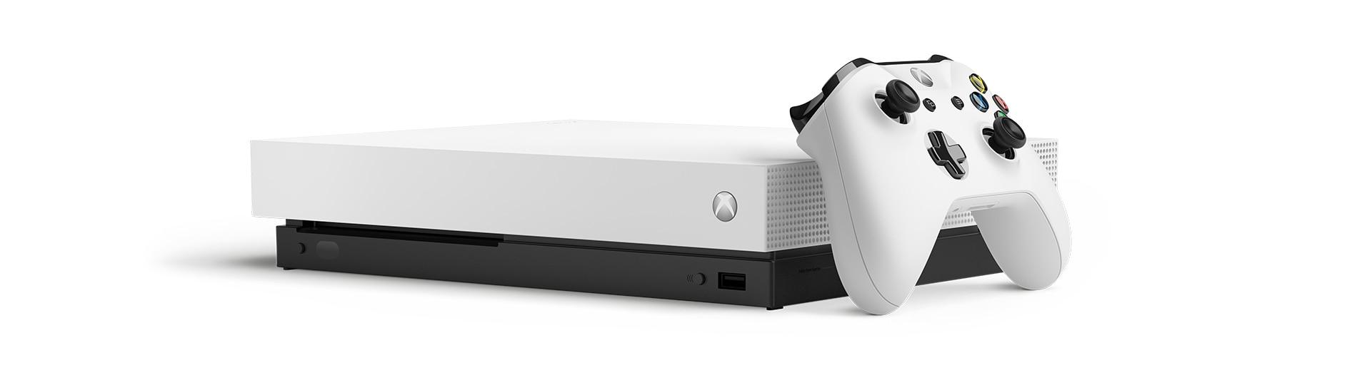 Microsoft MS Xbox One X+ Fallout 76 Blanco 1000 GB Wifi
