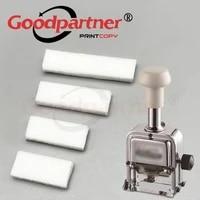 Goodpartner Parts Numbering Machine Refill Ink Felt Pad Sponge 3 5 6 7 8 9 10 12 13 15 Digits