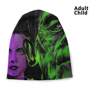 Bride Of Frankenstein And Monster It's Alive Vintage Universal Monsters Hip Hop Head Caps Beanies Beanie Hats Bride Of