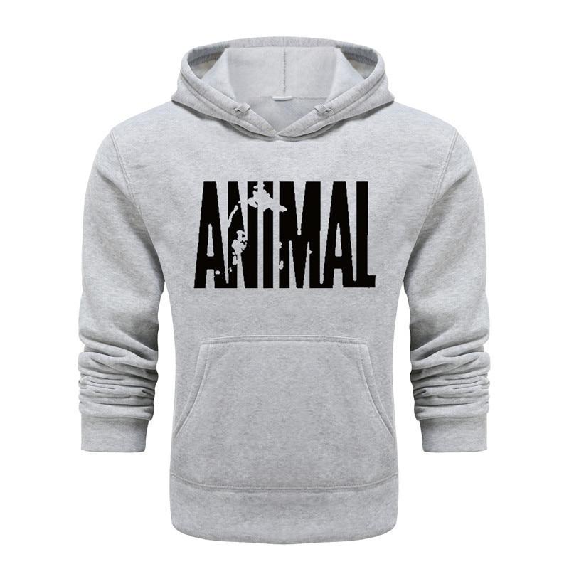 2021 New Fashion Spring Autumn Men  printing Animal Hoodies  Pocket Casual Loose Hooded Long Sleeve Tops