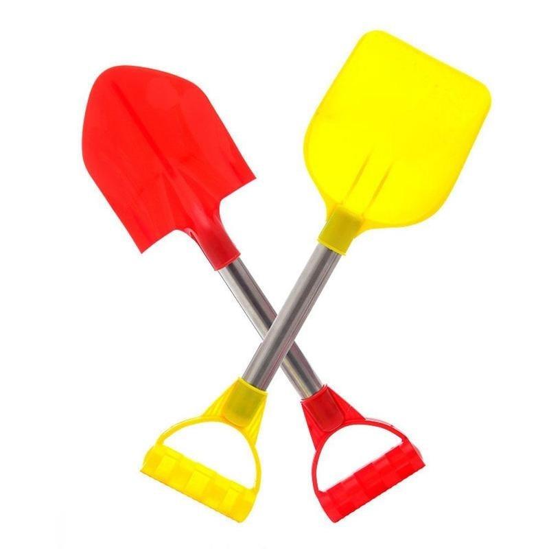 2Pcs/Set Beach Shovel Beach Toy Kids Outdoor Digging Sand Shovel Play Sand Tool Playing Shovels Play
