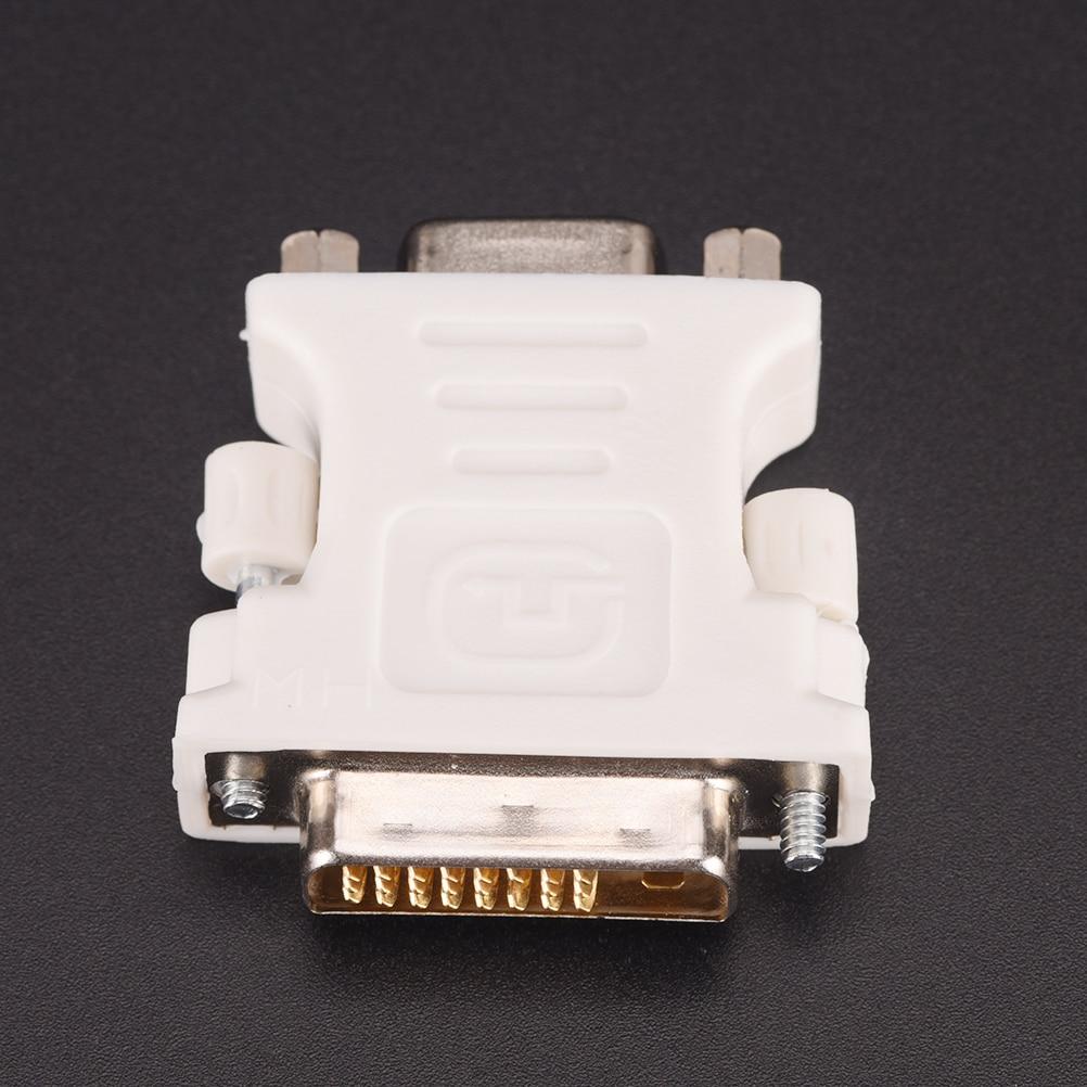 Adaptador de DVI-D-D-M a VGA-F de 24 + 1 pines para Monitor...