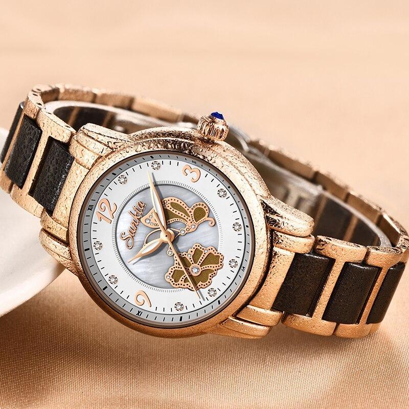 LIGE Sunkta Watch Women Watches Reloj Mujer Relogio Feminino Reloj Ladies Watch Montre Femme Zegarek Damski Relojes Para Mujer enlarge