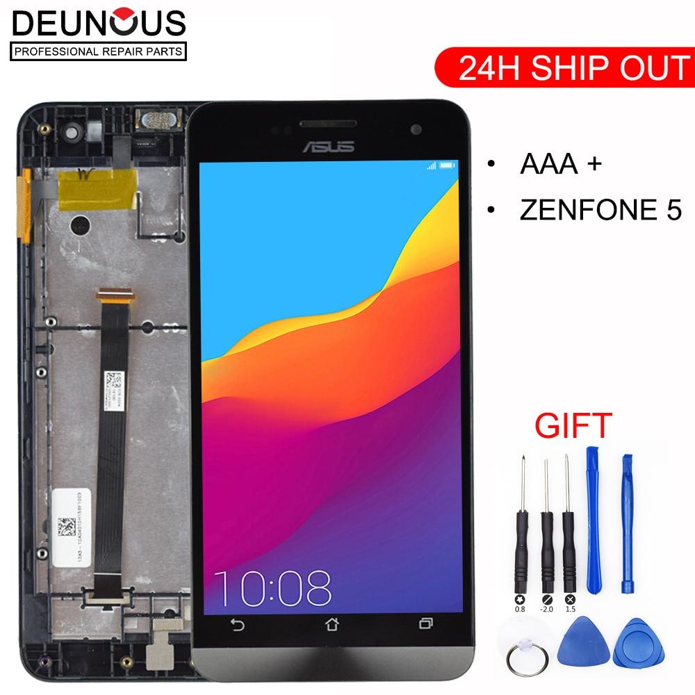 "ORIGINAL 5.0"" IPS Display For ASUS Zenfone 5 LCD Touch Screen Digitizer For ASUS Zenfone 5 Display T00J A500KL A500CG A501CG"