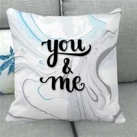valentines day series decorative square pillow case throw pillowcase decor woven home 4545cm sofa simplicity cushion cover