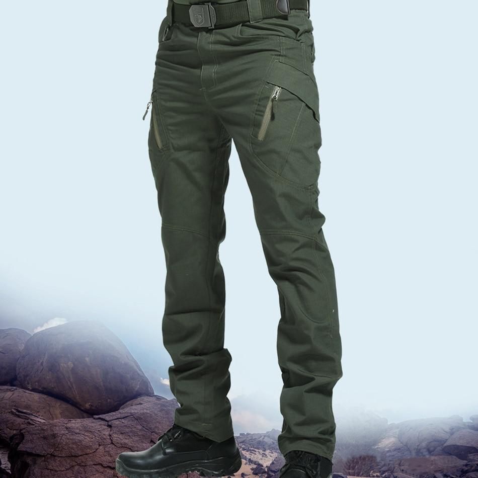 Чоловічі тактичні штани з кількома - Чоловічий одяг - фото 2