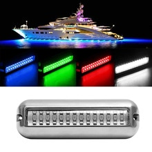 50W acier inoxydable bateau de pêche LED sous-marine ponton océan navire faisceau Yacht sévère pêche inondation nuit lumière piscine accessoires