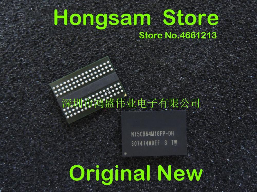 (5 piezas) 100% original nuevo NT5CB64M16FP-DH BGA