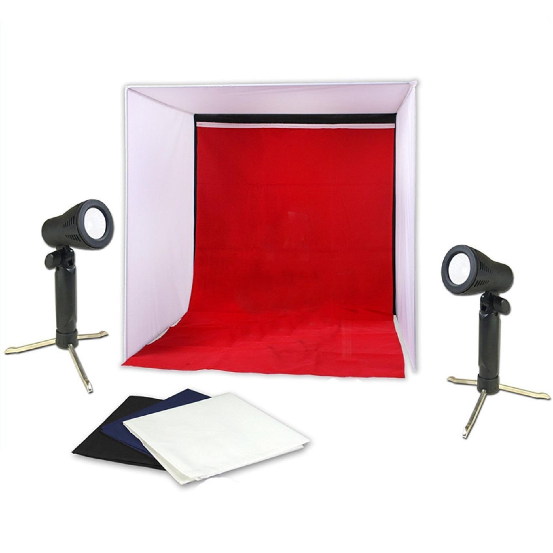 40*40 cm mini Folding Leuchtkasten Fotografie Studio Softbox LED Licht Foto Studio Softbox Zelt Softbox Cube box