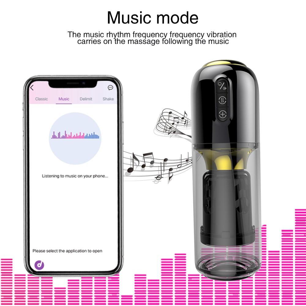 App Remote Masturbator music mode