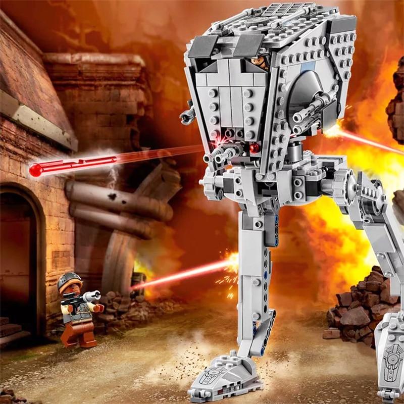 464 Uds 05066 75234 AT-AP Walker el Rogue One en el set ST Walker Ladrillos educativos juguetes compatibles con lepining Star Wars 75153
