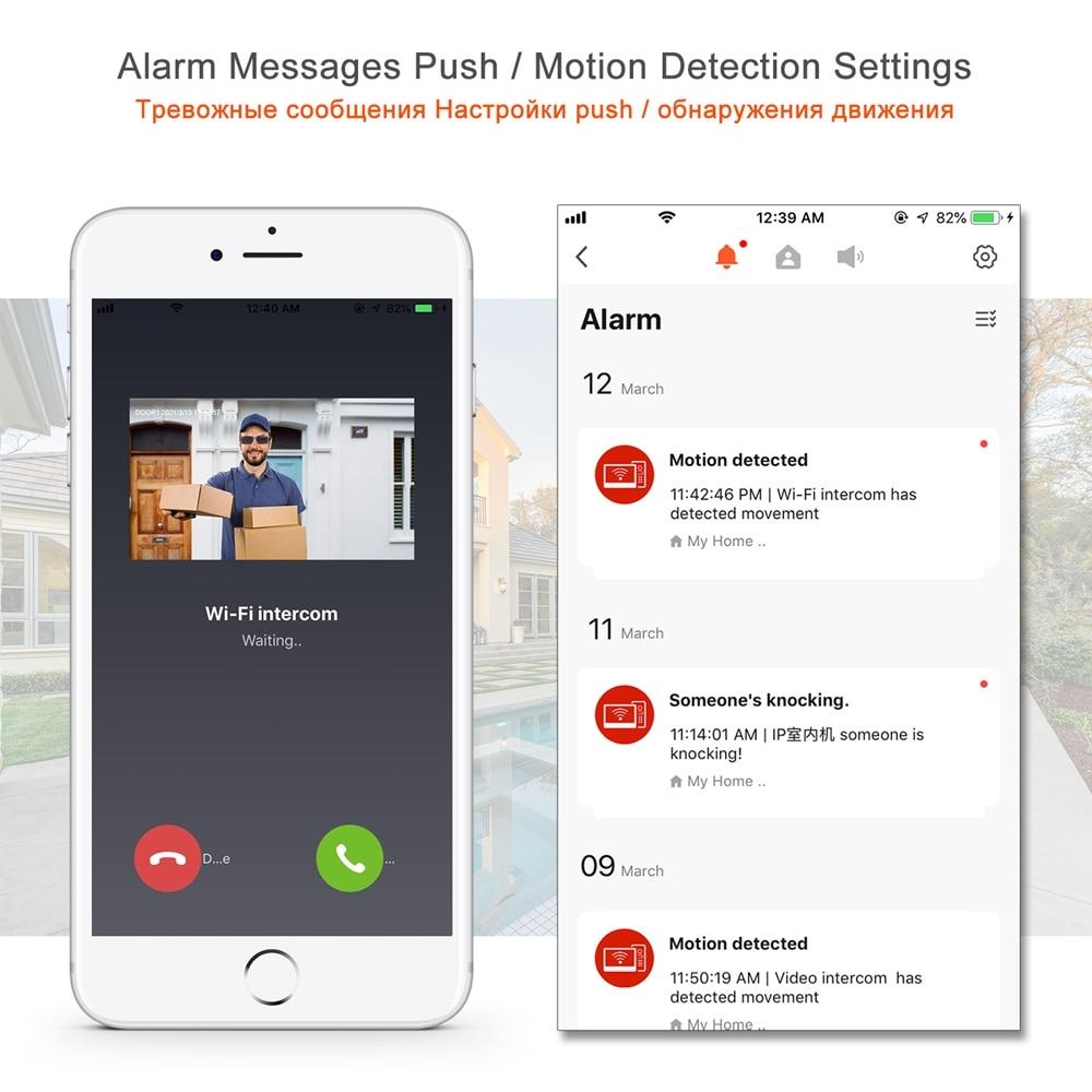TUYA Smart Life APP WiFi Video Intercom Home Video Doorbell 10 Inch Touch Screen Monitor 1080P Keypad Call Panel Doorbell Camera enlarge