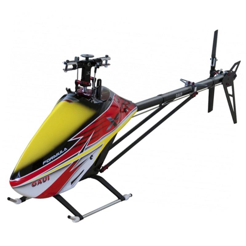 GAUI X5 V2 550 6CH 3D Flybarless cinturón Drive versión RC helicóptero Kit para RC Drone multicóptero