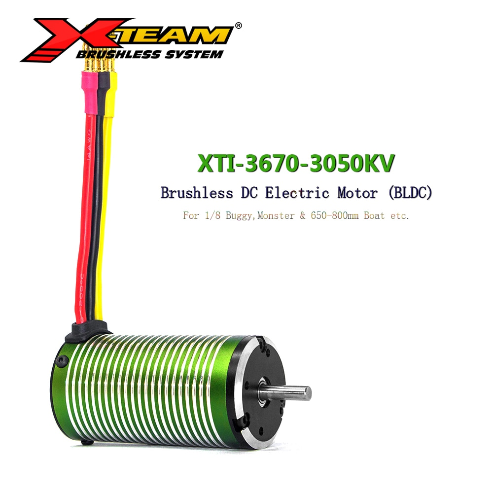 X-TEAM Bürstenlosen Motor 3670 3050KV BLDC Motor Elektromotor für RC Auto 1/8 BuggyMonster 650-800mm RC Boot Ersatz ersatzteil