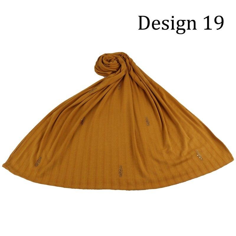 Xwzz design 19 personalizar feminino algodão diamante lenços hijabs com pedras para países baixos bélgica muçulmano