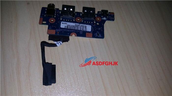 الأصلي ل HP Chromebook 11 سلسلة USB ميناء الصوت جاك المجلس DA00C1PI4E0 اختبارها بالكامل