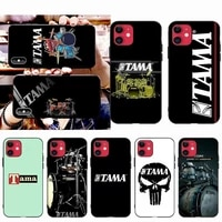 hpchcjhm tama drums customer phone case for iphone 11 pro xs max 8 7 6 6s plus x 5s se 2020 xr case