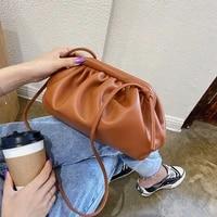 spaghetti shoulder bag womens messenger bag cloud casual female small crossbody bag and purses