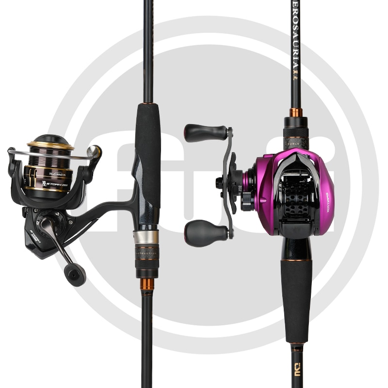 TSURINOYA Spinning Casting Fishing Rod PTEROSAURIA L ML M Power FUJI Guide Rings Reel Seat High Sensitive Carbon Pike Bass Rod enlarge