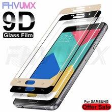 Vidrio Protector 9D para Samsung Galaxy A3, A5, A7, J3, J5, J7, 2016, 2017, Protector de pantalla para Samsung S7, funda de vidrio templado