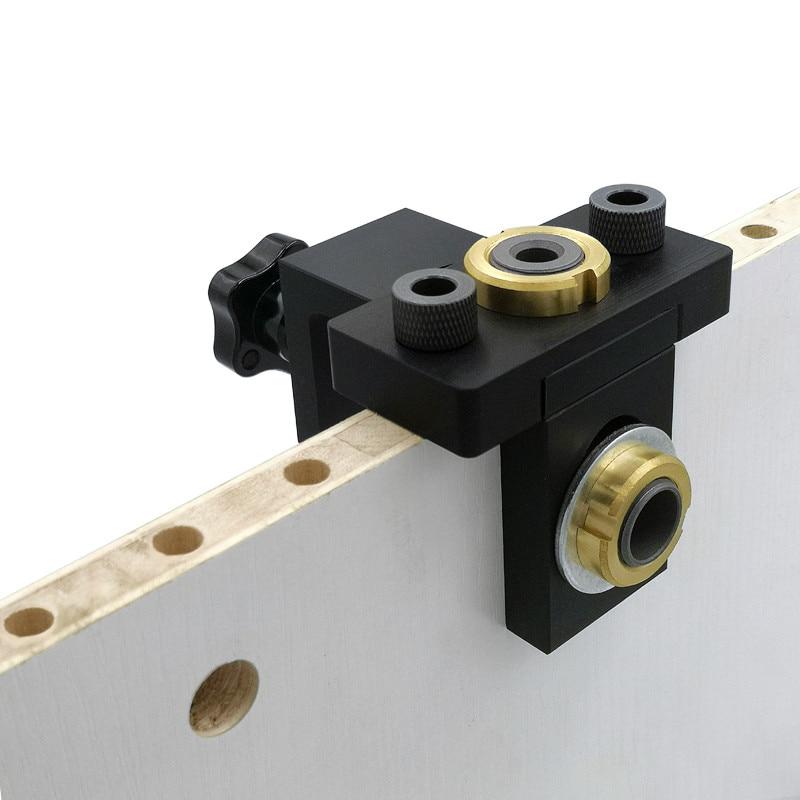 3 az 1-ben állítható csapos fúrógép famegmunkáló zsebfuratos - Fúrófej - Fénykép 2