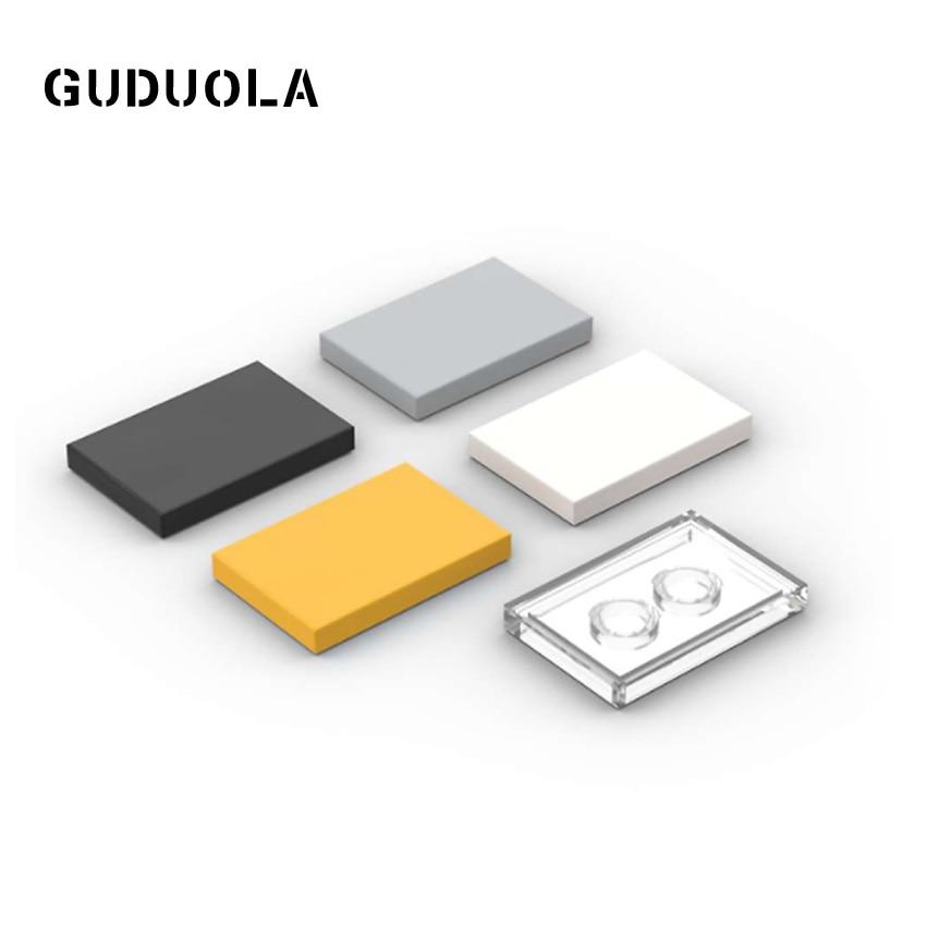 Guduola 26603 Tile 2x3 Special Bricks MOC Building Block Small Particle Parts Educational Toys 45pcs/lot
