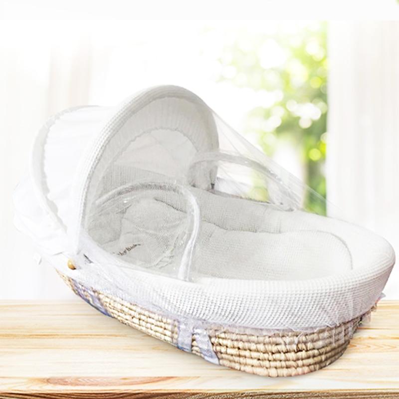 Bassinet Portable Sleeping Cradle Bed in Bed Newborns Portable Infant Basket bassinet enlarge