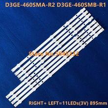 LED Backlight bar LM41-00001Y LM41-00001X for Samsung 2013SV46 3228N1 B2 R06 L06 D3GE-460SMB-R1 D3GE-SMA-R2 UA46H5303 UE46EH5000