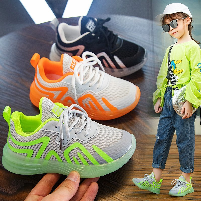 New Autumn Children Sport Shoes Girls Flats running shoes tennis Casual Shoes Kids Shoe for Girl Toddler Sneakers