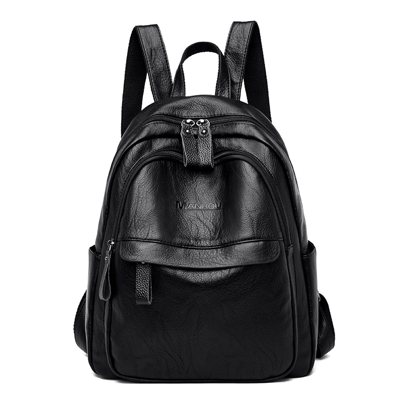 2020 Fashion Women Backpacks High Quality Female Vintage Backpack for Girls School Bag Travel Bagpack Ladies  Back Pack