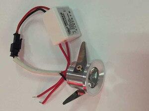 10pcs  1W/3W mini led downlight  Mini led cabinet light AC85-265V Mini led lamp white or Warm white RoHS CE